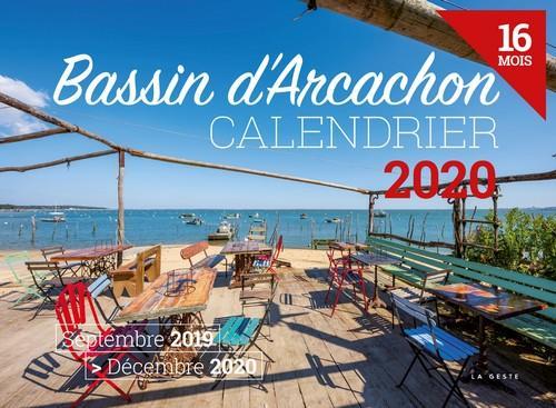 Calendrier 2020 ; bassin d'Arcachon