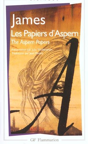 Les papiers d'Aspern ; the Aspern papers