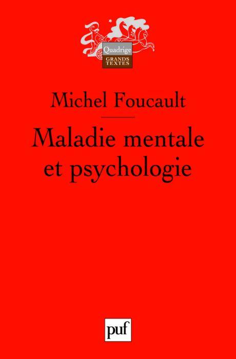 Maladie Mentale Et Psychologie (5e Edition)