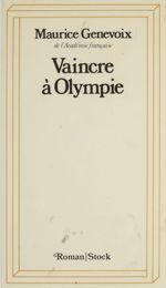 Vente Livre Numérique : Vaincre à Olympie  - Maurice Genevoix