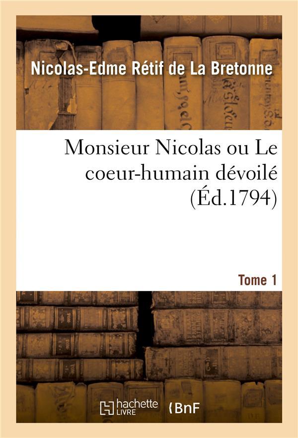 Monsieur nicolas ou le coeur-humain devoile. tome 8. partie 15