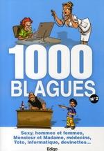 Couverture de 1000 blagues t.2