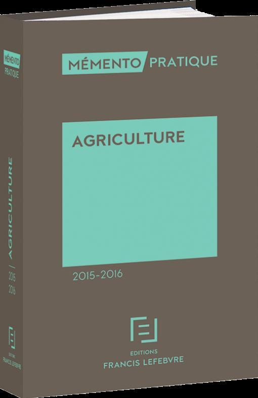 Memento Pratique; Memento Agriculture 2015-2016