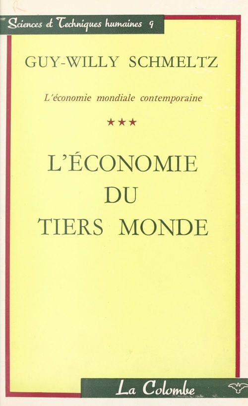 L'économie mondiale contemporaine (3)