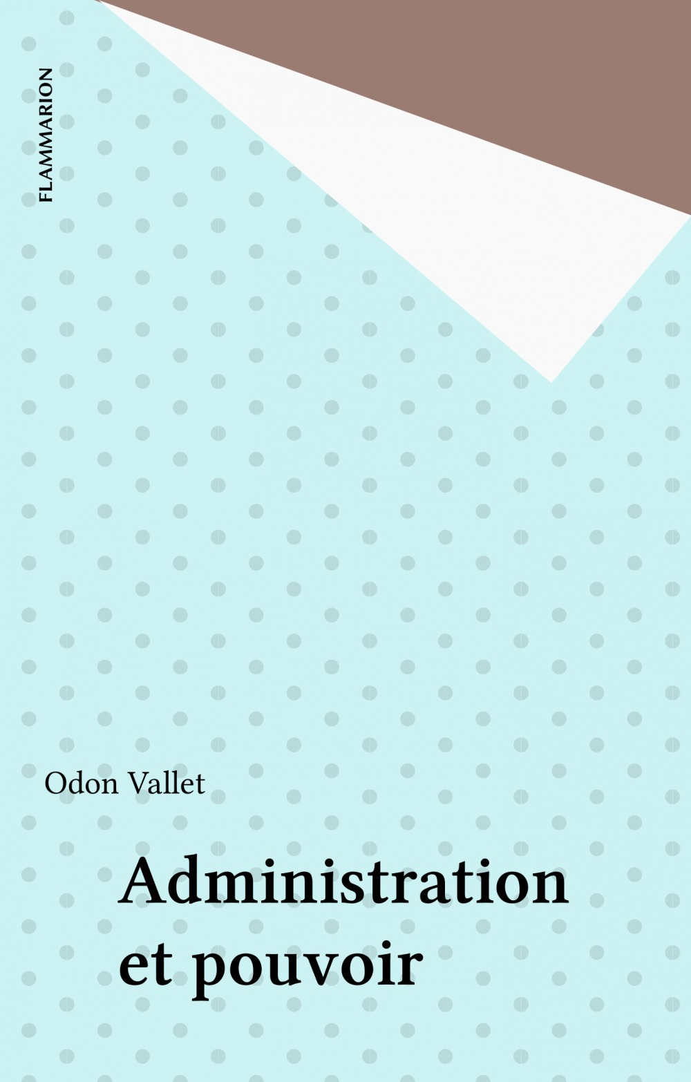 Administration et pouvoir