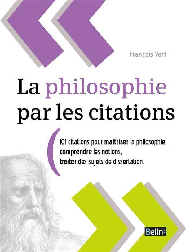 la philosophie par les citations