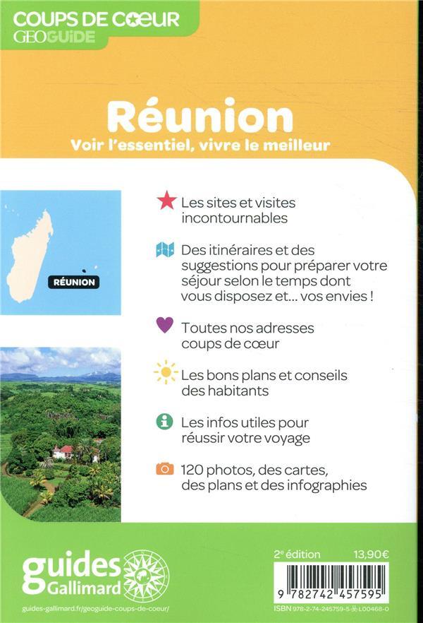 GEOguide coups de coeur ; Réunion (édition 2019)