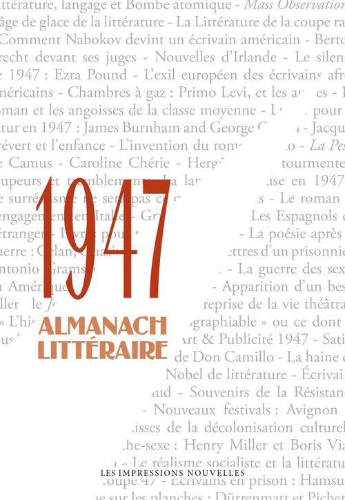 1947 ; almanach littéraire
