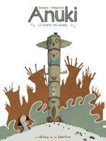 Couverture de Anuki T1 - La Guerre Des Poules