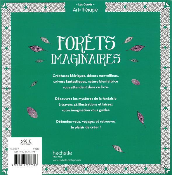 Art-thérapie ; les grands carrés ; forêt imaginaire