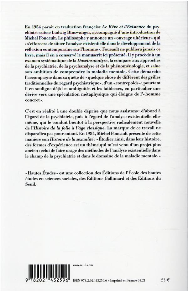 Binswanger et l'analyse existentielle : manuscrit inédit