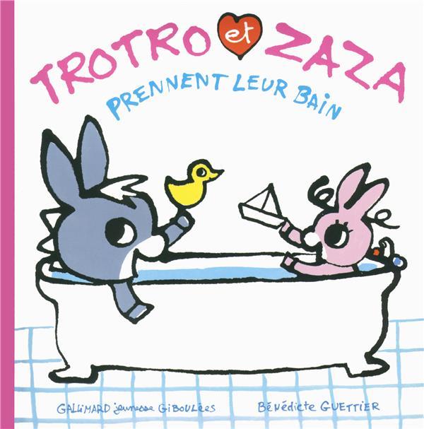 Trotro et Zaza prennent leur bain