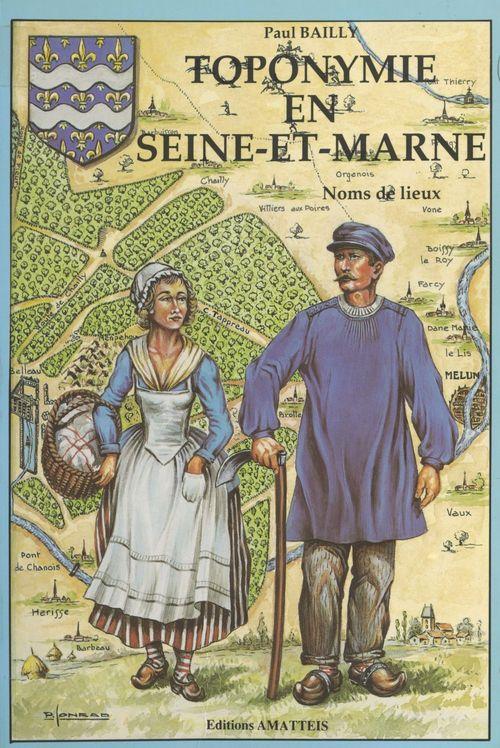 Toponymie en Seine-et-Marne