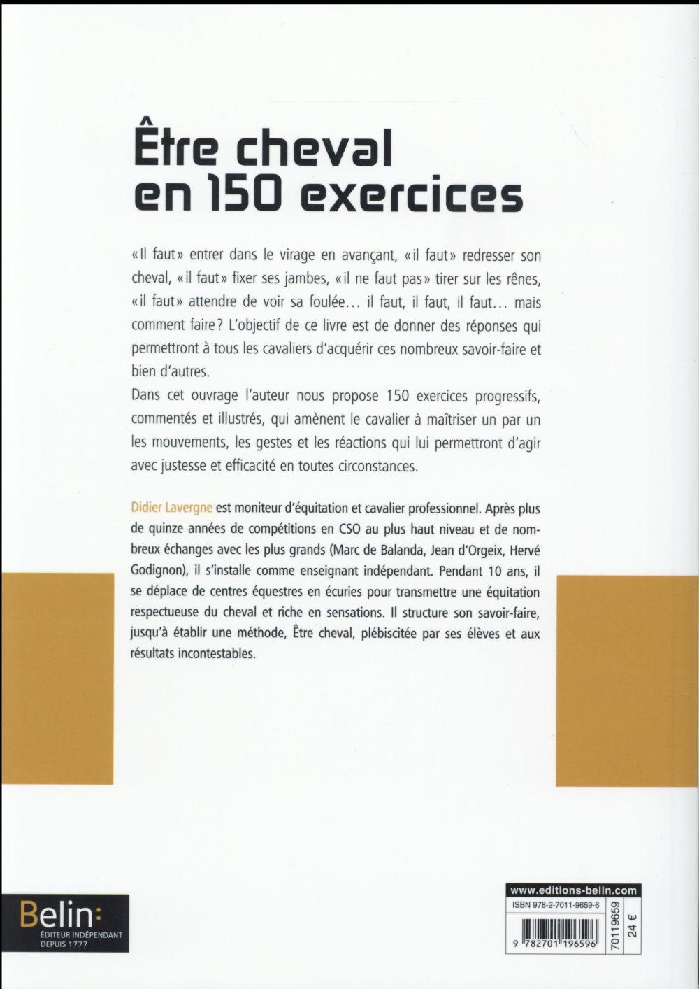 être cheval en 150 exercices