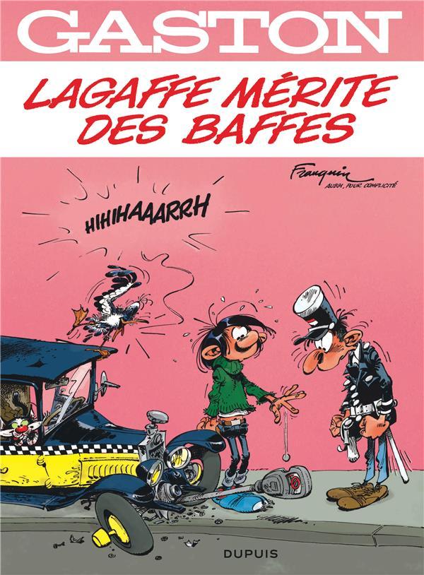 Gaston Lagaffe T.16 ; Lagaffe Merite Des Baffes