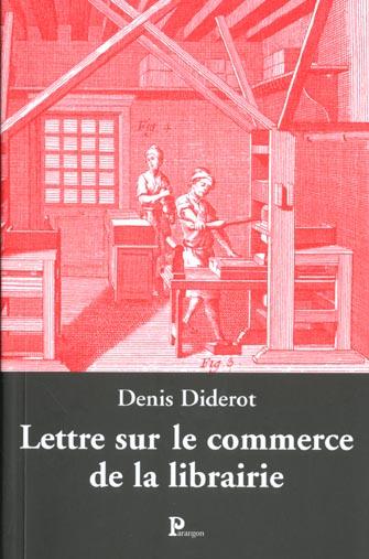 Lettre sur le commerce et la librairie
