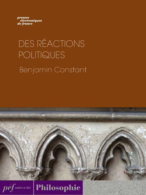 Des réactions politiques