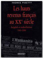 Vente EBooks : Les hauts revenus en France au XXème siècle  - Thomas Piketty