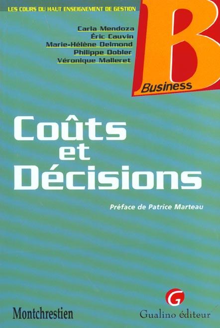 Couts et decisions