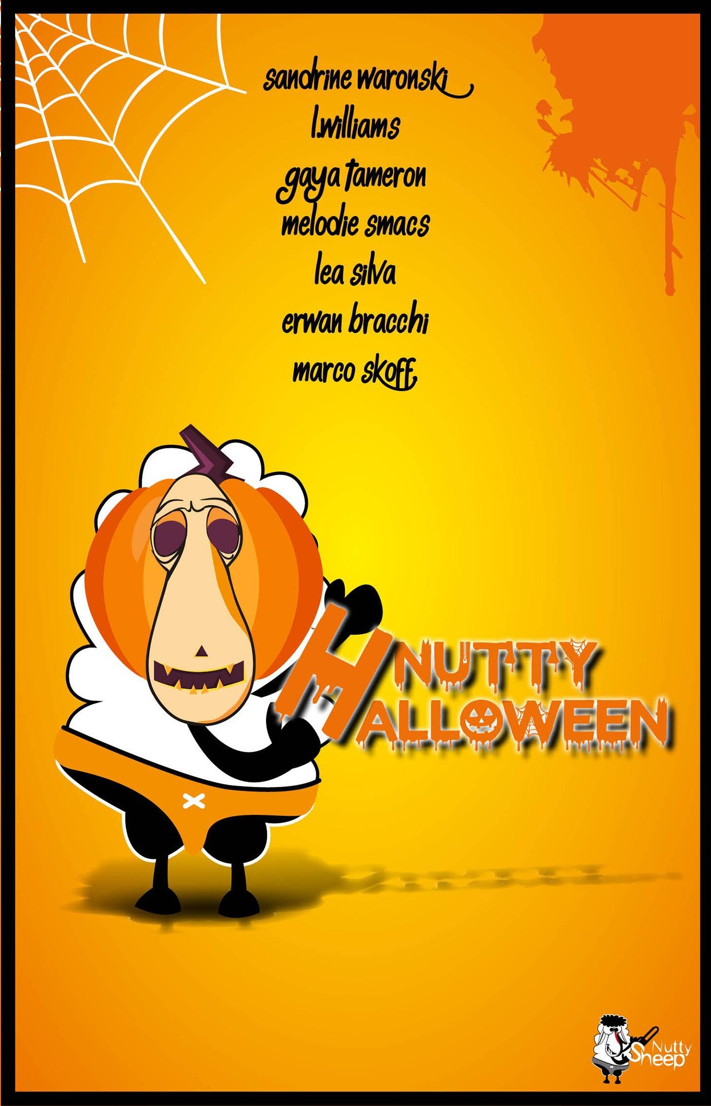 Nutty Halloween