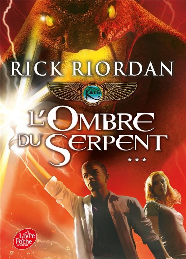 Kane chronicles t.3 ; l'ombre du serpent