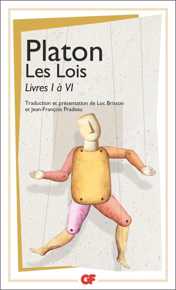 Les lois t.1 ; livre I à VI
