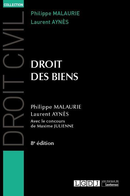 Droit des biens (8e édition)