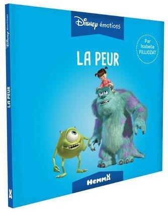 Disney émotions ; Monstres Academy ; la peur