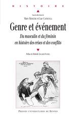 Genre et événement  - Marc Bergère - Luc Capdevila