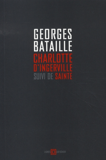 Charlotte D'Ingerville ; Sainte