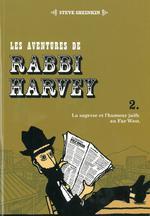 Couverture de Les Aventures De Rabbi Harvey  Il A Neige A Elk Spring