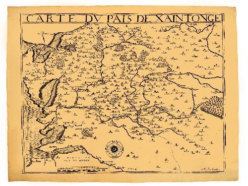 Pays de Saintonge en 1592