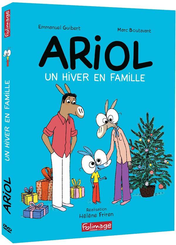 Ariol Un Hiver En Famille Helene Friren Folimage Dvd Place Des Libraires