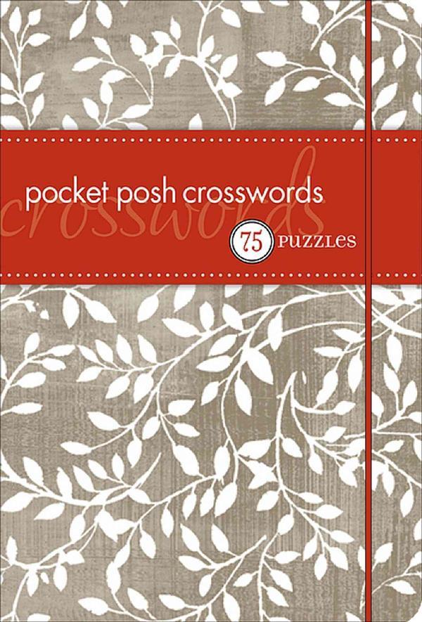 pocket posh crosswords - 75 puzzles