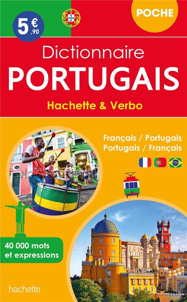 DICTIONNAIRE HACHETTE et VERBO POCHE  -  FRANCAIS-PORTUGAIS  PORTUGAIS-FRANCAIS XXX