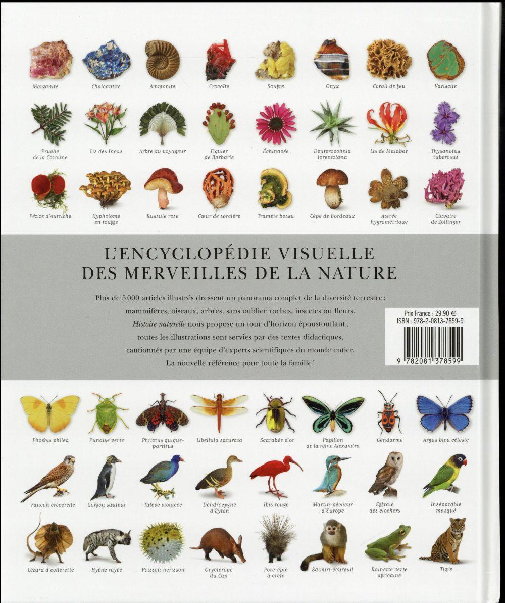 Histoire naturelle ; plus de 5000 entrées en couleurs