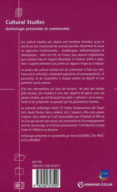 cultural studies ; anthologie