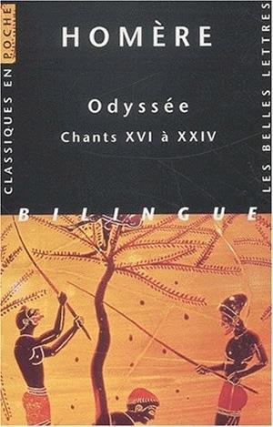 Odyssée t.3 ; chants XVI à XXIV