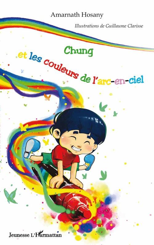 Chung et les couleurs de l'arc-en-ciel