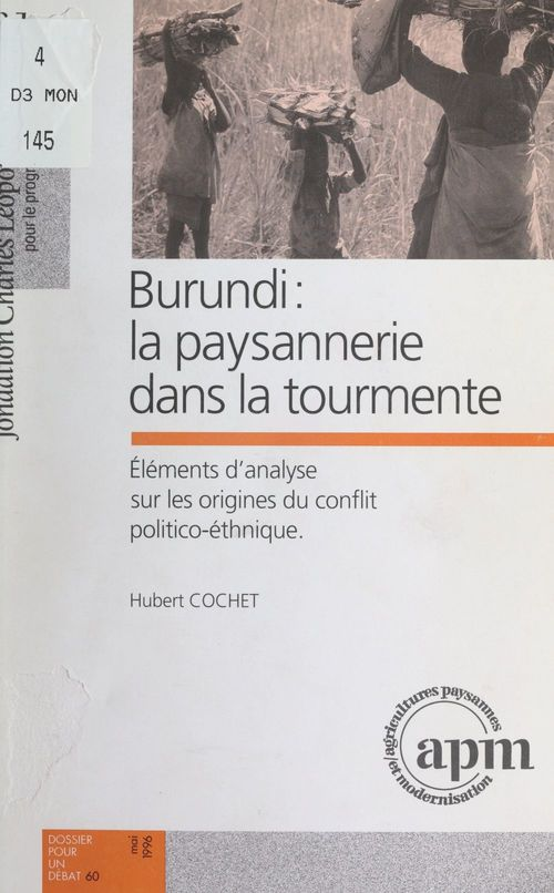 Burundi : la paysannerie dans la tourmente