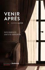 Vente EBooks : Venir après  - Danièle Laufer