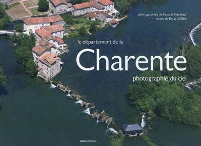 Le département de la Charente photographié du ciel
