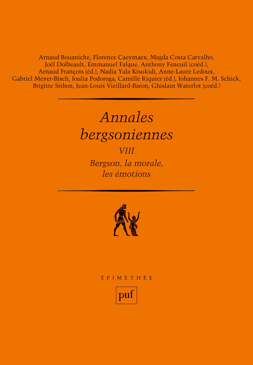 Annales bergsoniennes t.7 ; Bergson et Freud