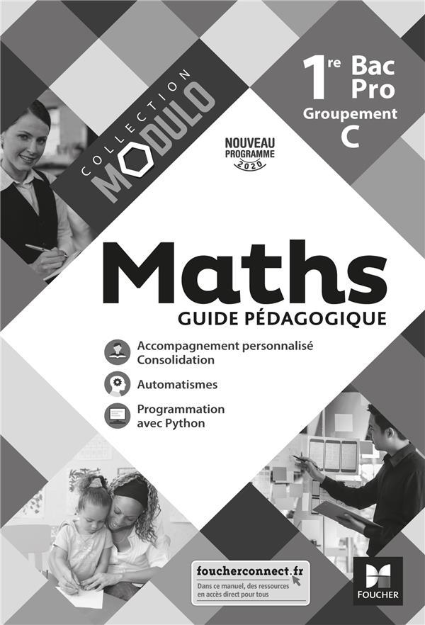 Modulo ; maths ; 1re bac pro, C ; corrigé