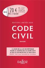 Code civil (édition 2020)