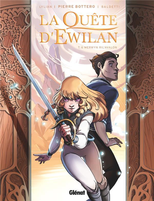 La quête d'Ewilan T.6 ; Merwyn Ril'Avalon