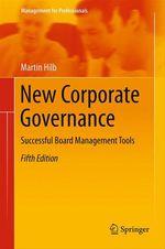 New Corporate Governance  - Martin Hilb