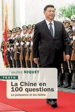 Vente EBooks : La Chine en 100 questions  - Valérie Niquet