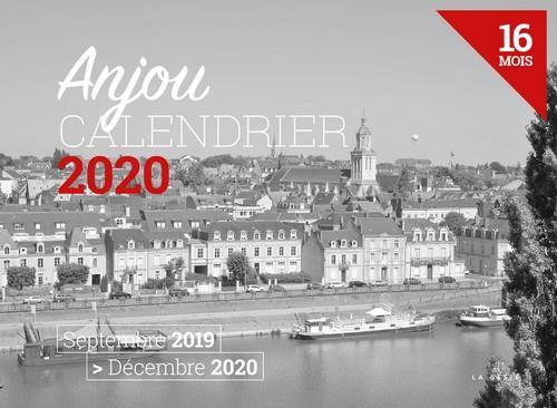 Calendrier 2020 ; Anjou