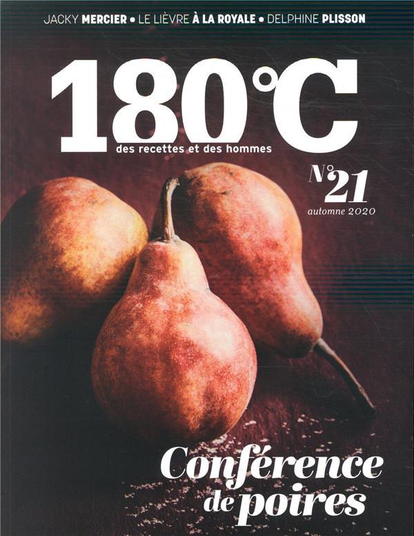 180°c n.21 ; automne 2020 ; bonnes poires